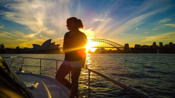 sydney yacht stewardess